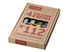 Opinel Kitchen Knife Set No.112 - colored